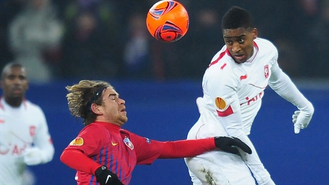 Twente on course for Steaua success