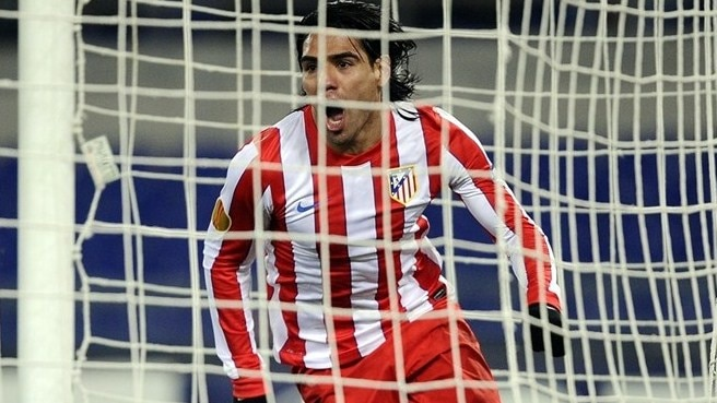 Atlético's Falcao on guard for 'dangerous' Lazio