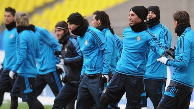 Mourinho backs Madrid to beat Moscow freeze