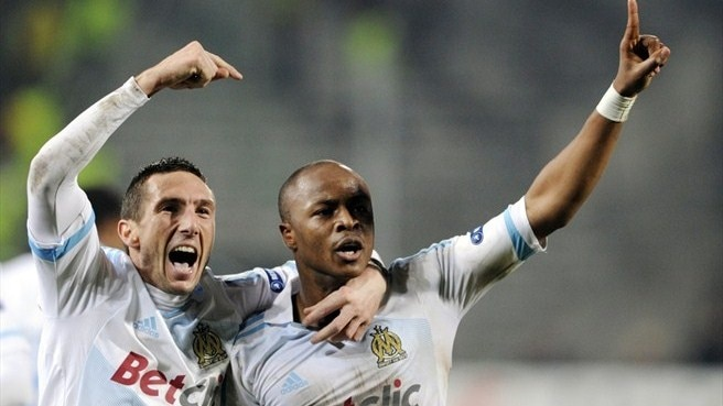 Marseille's Ayew stuns Inter at the last