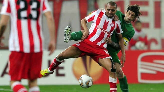 Olympiacos wrap up victory against Rubin