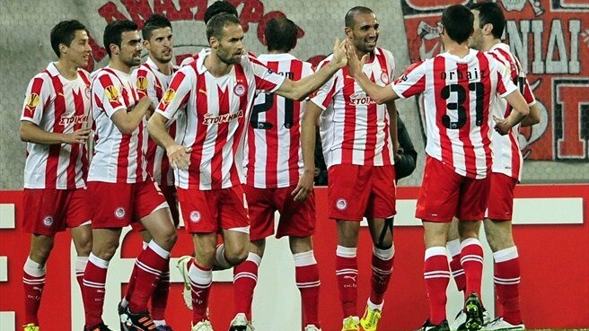 Djebbour, Carroll give all for Olympiacos