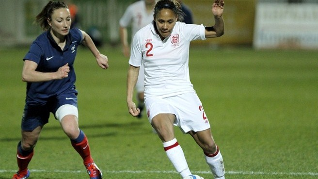 Gaëtane Thiney (France) & Alex Scott (England)