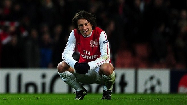 Pride comes with Milan fall for Arsenal's Rosický