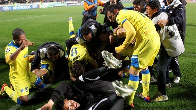 Jovanović revels in historic APOEL success