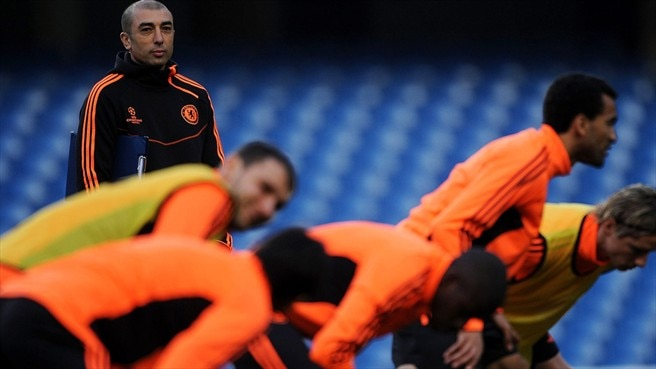Press conference: Roberto Di Matteo and John Terry (Chelsea)