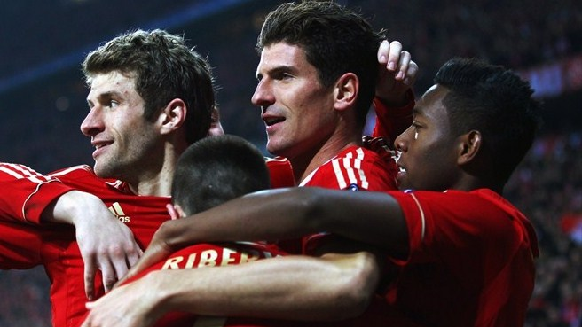 Gomez on record-breaking Bayern