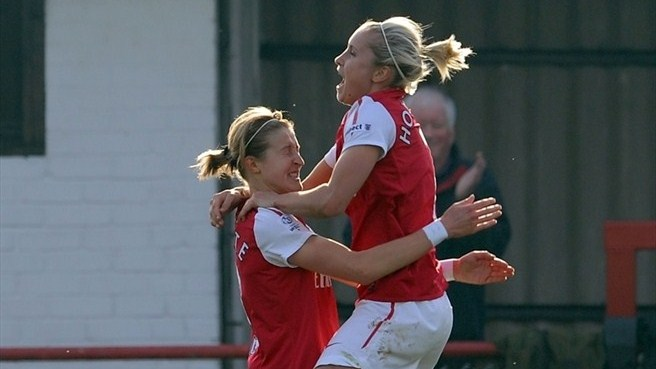 Ellen White & Stephanie Houghton (Arsenal LFC)