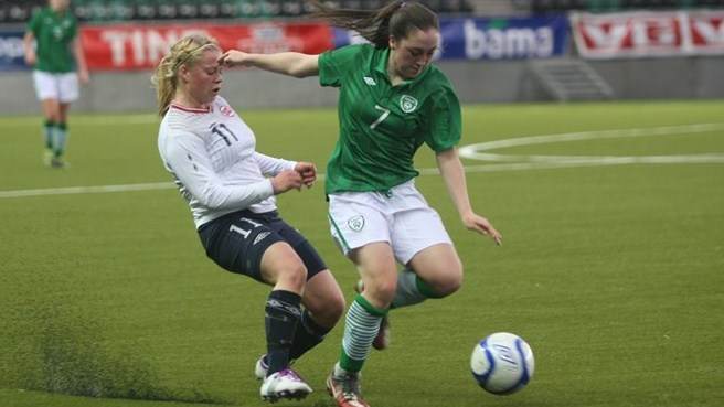 Theres Åsland (Norway) & Amy O'Connor (Republic of Ireland)