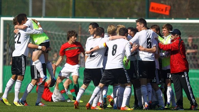 Germany book their ticket for Under-17 finals