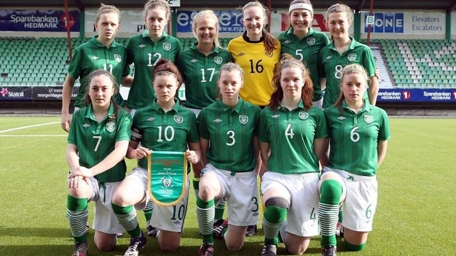 Republic of Ireland line up