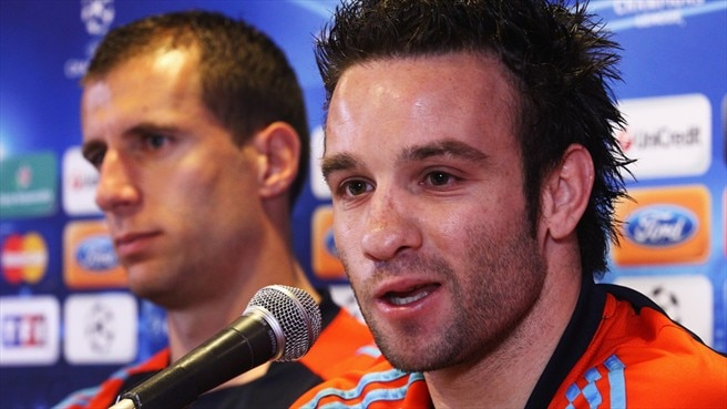 Valbuena urges Marseille fans to rally for Bayern
