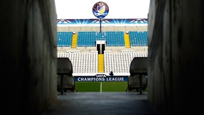 GSP Stadium tunnel, APOEL FC