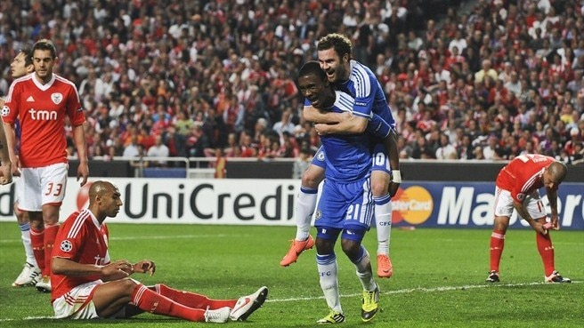 Benfica - Chelsea reaction
