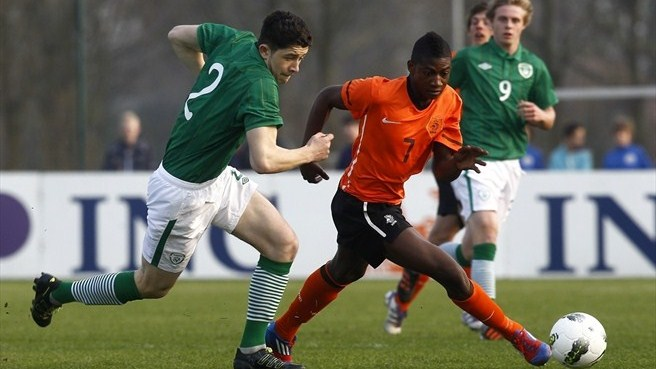 Sean Long (Republic of Ireland) & Elton Acolatse (Netherlands)