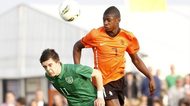 Jack Grealish (Republic of Ireland) & Elton Acolatse (Netherlands)