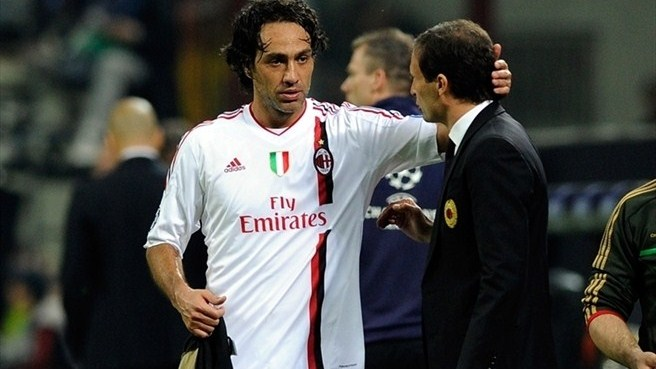 Nesta ends decade at Milan