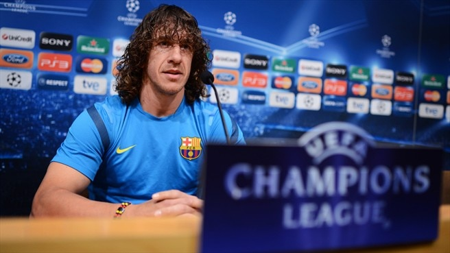 Barça's Puyol vows to take game to Milan
