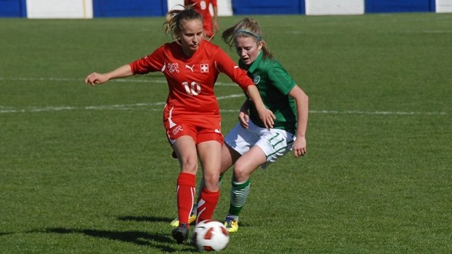 Natasha Gensetter (Switzerland) & Siobhan Killeen (Republic of Ireland)
