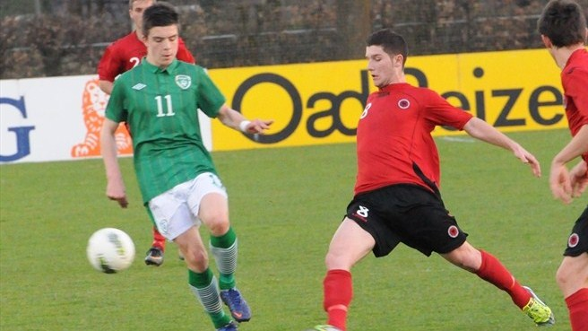 Dorian Hakrama (Albania) & Jack Grealish (Republic of Ireland)