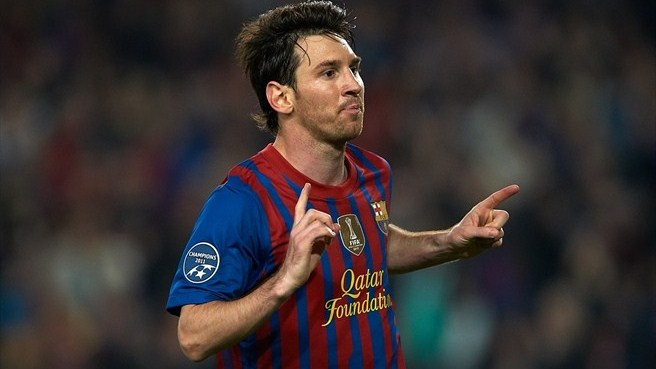 Record-breaking Messi takes top scorer honour