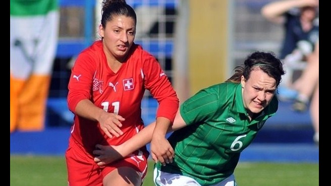 Mirjine Selimi (Switzerland) & Ciara Grant (Republic of Ireland)