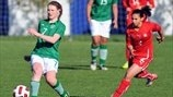 Stefanie Liebhart (Switzerland) & Aileen Gilroy (Republic of Ireland)