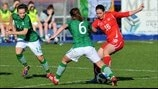 Laura Walker (Switzerland), Ciara Grant & Katie McCabe (Republic of Ireland)