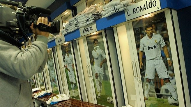Real Madrid CF dressing room