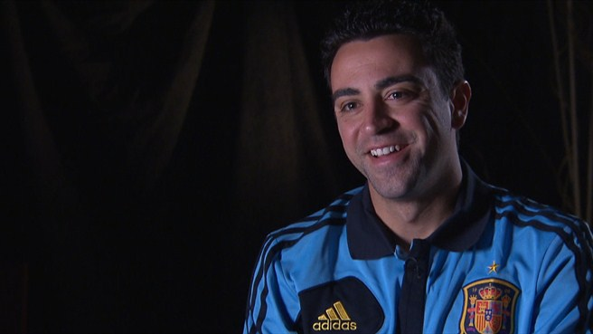 Spain and Barça's Xavi answers your questions