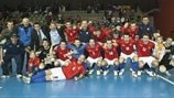 Czech Republic celebrate
