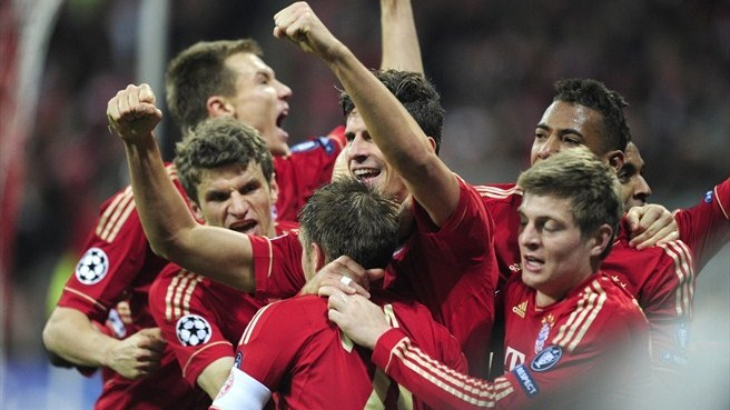 Last-gasp Gomez gives Bayern edge over Madrid