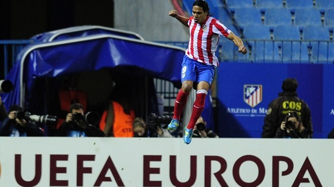 Prolific Falcao soaring up scoring chart