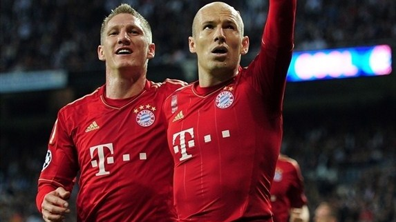 Robben drawing strength from Bayern renaissance