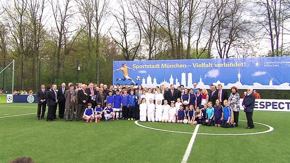 Munich mini-pitch ensures final legacy