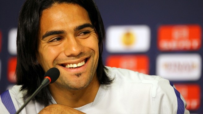 Falcao happy to play second fiddle for Atlético