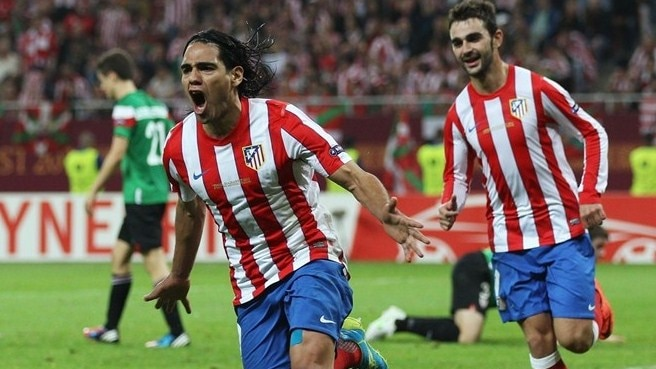 2011/12: Falcao at double in Atlético march
