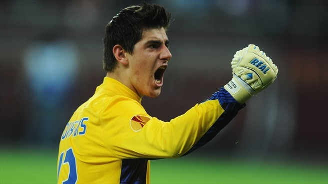 Courtois happy to extend Atlético stay