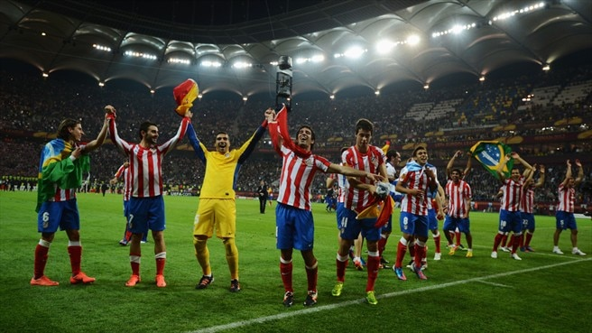 Atlético's 2012 UEFA  Europa League glory