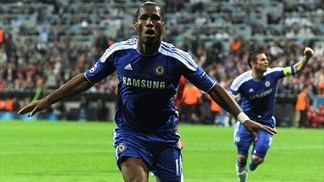 Drogba revisits Chelsea final header
