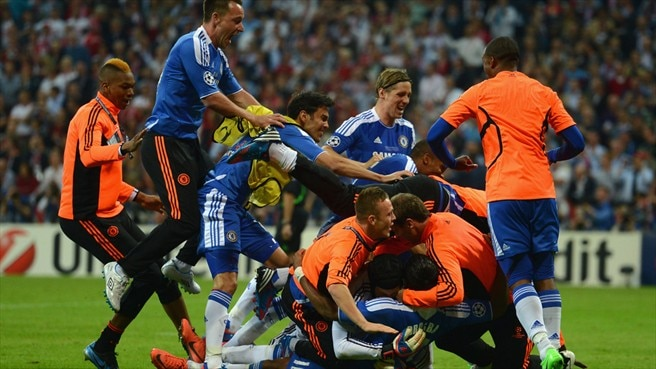 Chelsea lift England up European Cup ranking