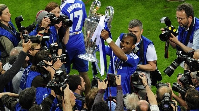 Chelsea success leaves Drogba speechless