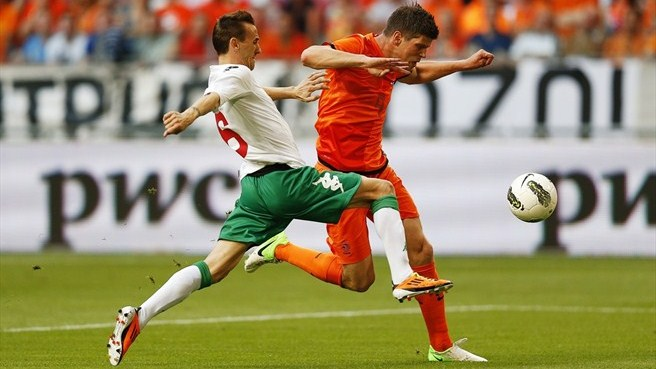 Netherlands suffer home defeat to Bulgaria