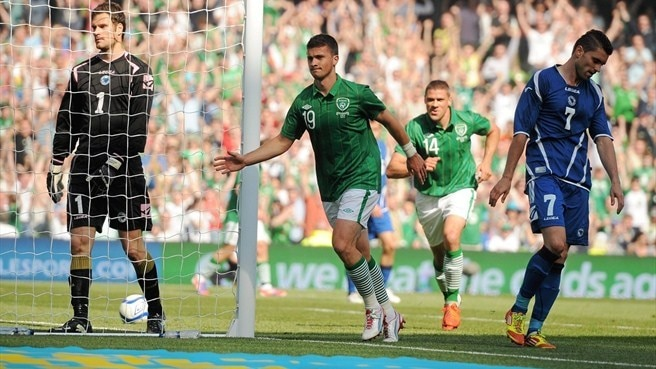 Ireland beat Bosnia and Herzegovina to extend run