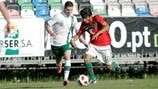 Ricardo Esgaio (Portugal) & Anthony Forde (Republic of Ireland)