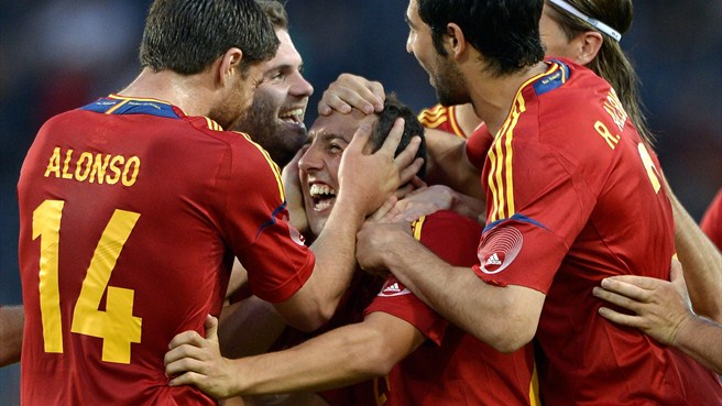 Spain soar in anticipation of title defence