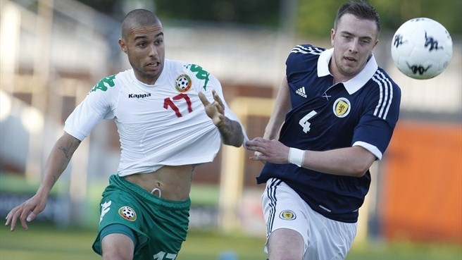 Scotland scuppered by Bulgaria's Kostadinov