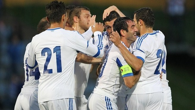 Slender win closes out Greece's preparations