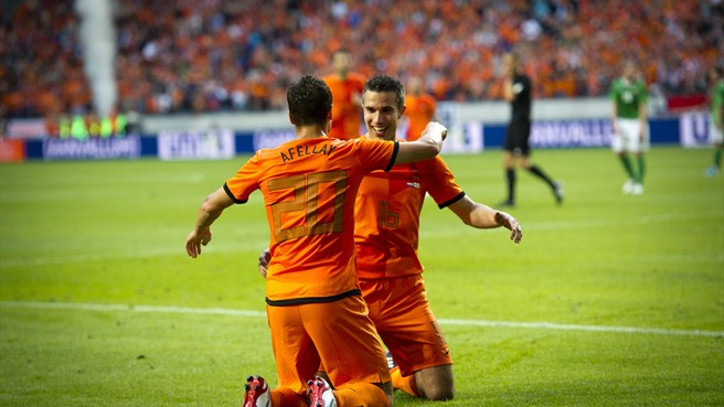 Netherlands slot six past Northern Ireland