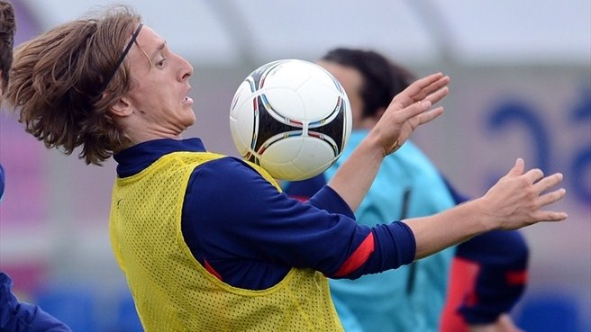 Modrić going for gold with Croatia